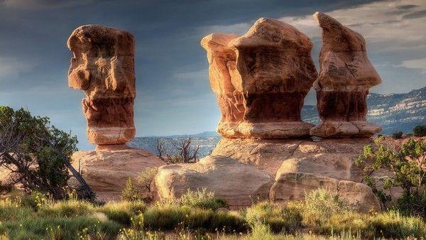 Rocheuses et déserts  153f19c5