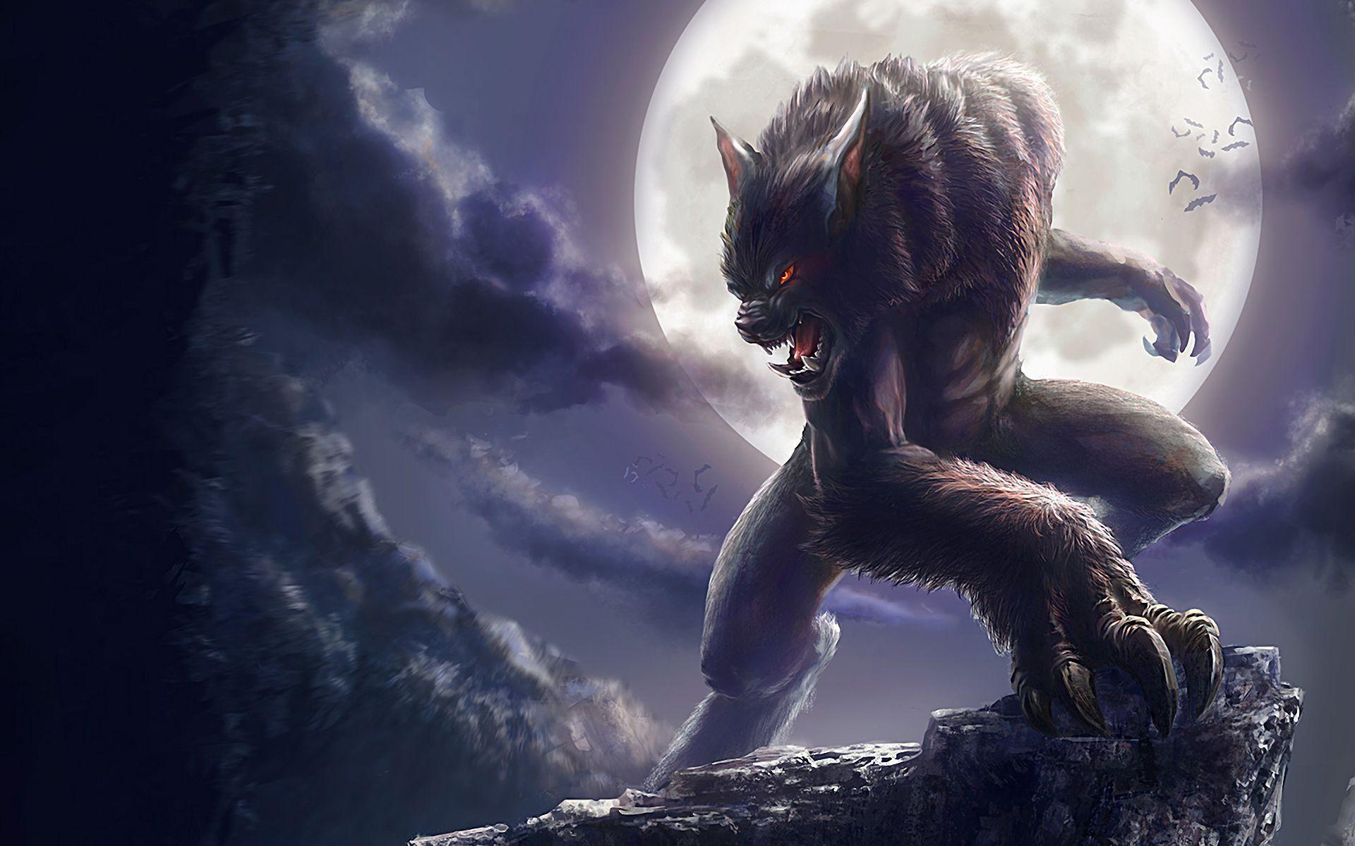 Des loups garous en dessin et image - Dessin loup garou ...